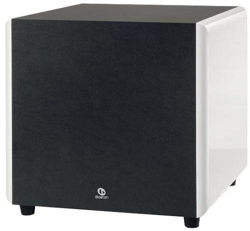 boston acoustics asw250 caissons de basses sur son vid. Black Bedroom Furniture Sets. Home Design Ideas