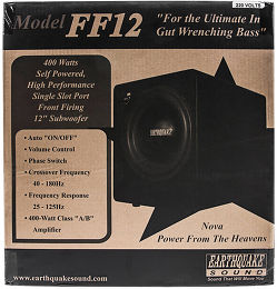 Earthquake FF-12 Vue Packaging