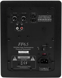 Earthquake FF-6.5 Vue arrière