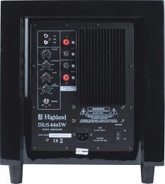 Highland Audio Dilis 440SW Vue arrière
