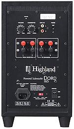 Highland Audio Dord 165 Vue arrière
