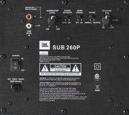 JBL Sub 260P Vue de détail 1