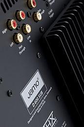 Jamo D600 SUB Vue arrière