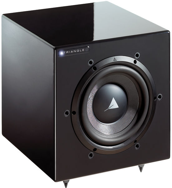 triangle meteor 0 5 wifi caissons de basses son vid. Black Bedroom Furniture Sets. Home Design Ideas