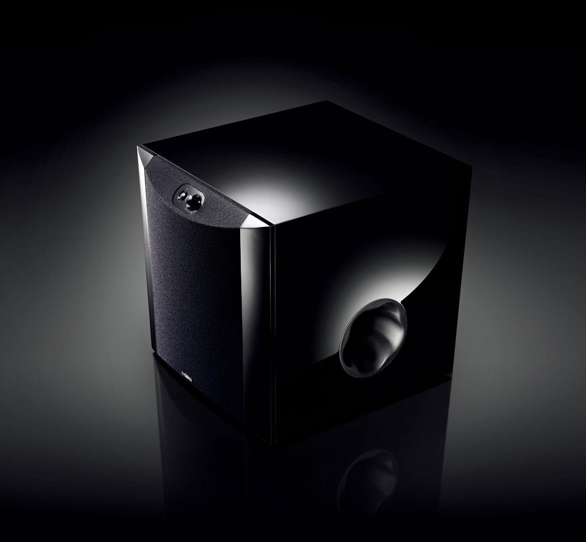 yamaha ns sw200 caissons de basses son vid. Black Bedroom Furniture Sets. Home Design Ideas