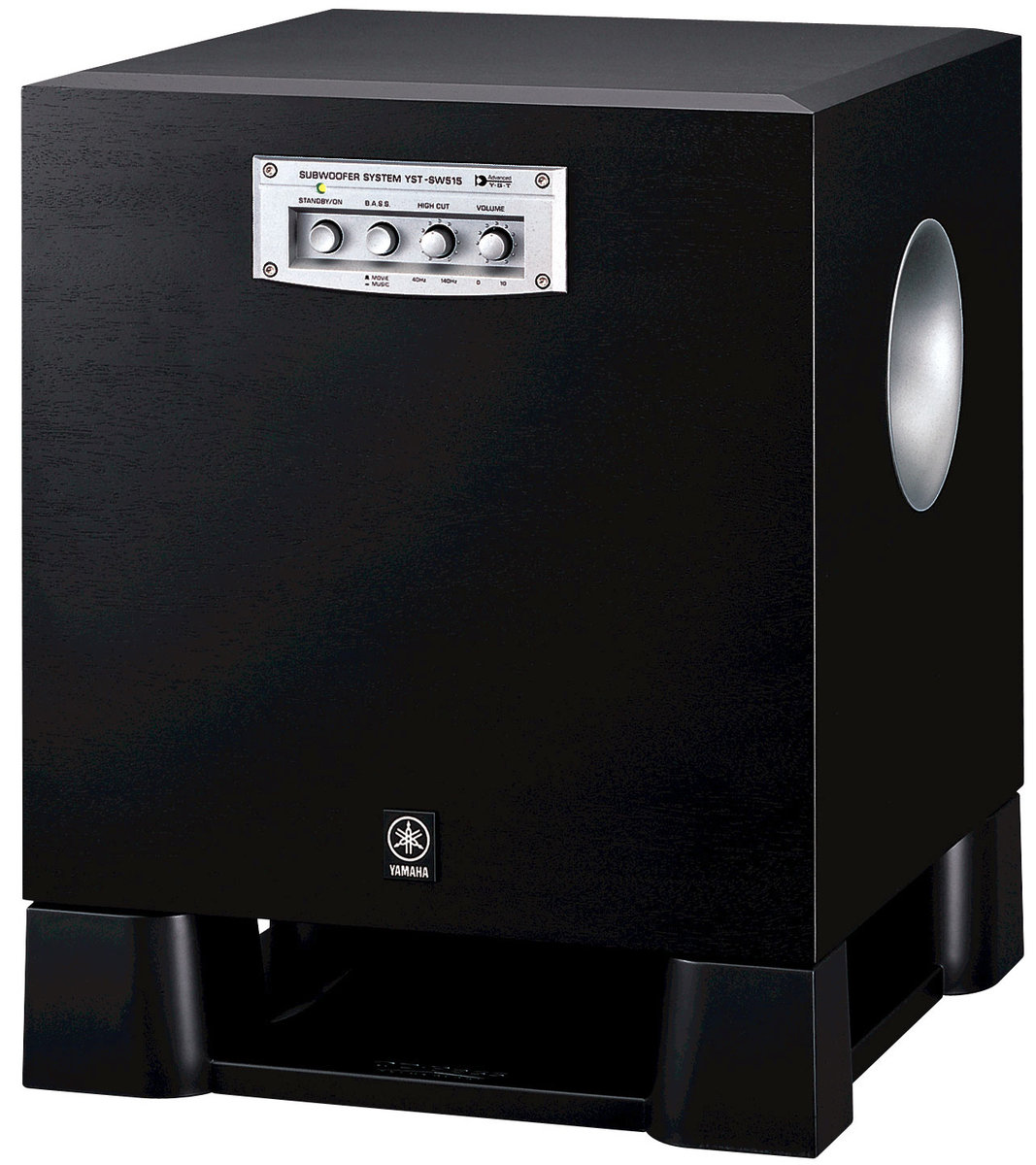 yamaha yst sw515 caissons de basses son vid. Black Bedroom Furniture Sets. Home Design Ideas
