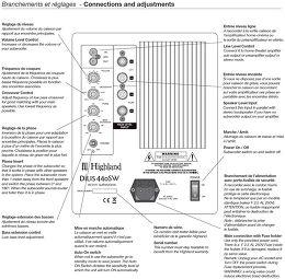 Highland Audio Dilis 440SW Vue de détail 1
