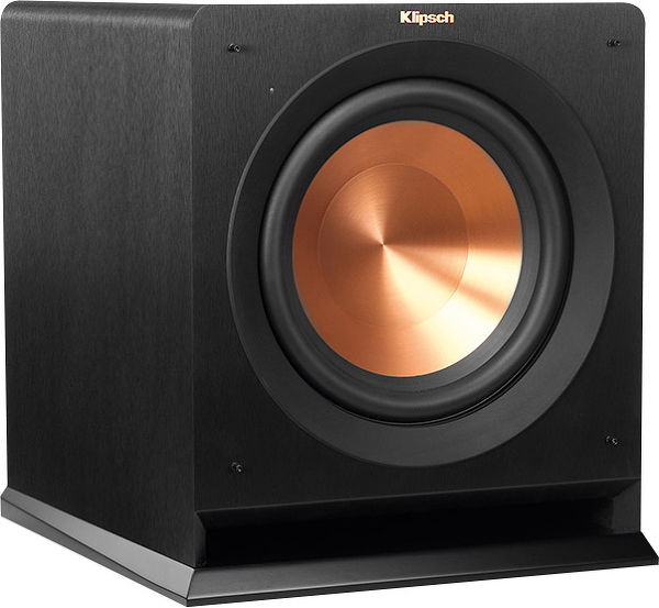 klipsch rp 110wsw caissons de basses son vid. Black Bedroom Furniture Sets. Home Design Ideas