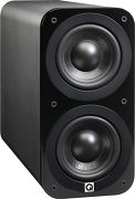Q Acoustics 3070S Simili-cuir noir