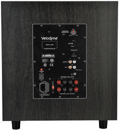 Velodyne EQMax 12 Vue arrière
