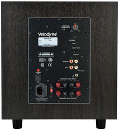 Velodyne EQMax 8 Vue arrière