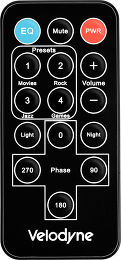 Velodyne SPL-800U Vue Accessoire 1