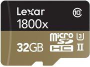 Carte mémoire microSD Lexar