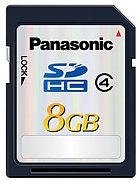 Panasonic SDHC Class 4 (8 Go)