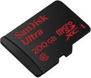 SanDisk Ultra MicroSDXC 200 Go