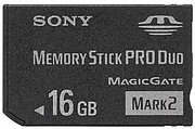 Memory Stick Pro Duo 16 Go