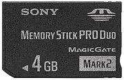Memory Stick Pro Duo 4 Go