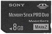 Memory Stick Pro Duo 8 Go