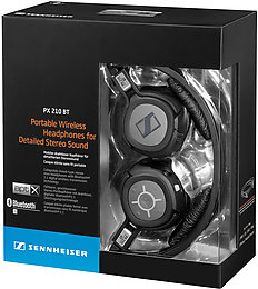 Sennheiser PX-210BT Vue Packaging