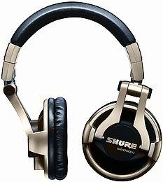 Shure SRH-750 DJ Mise en situation 1