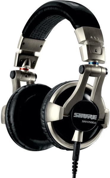 Shure SRH-750 DJ Vue principale