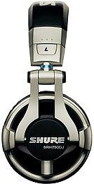 Shure SRH-750 DJ Vue profil