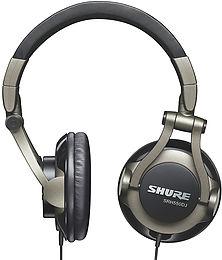 Shure SRH-550 DJ Mise en situation 1