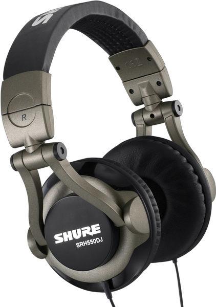 Shure SRH-550 DJ Vue principale