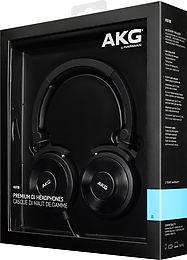 AKG K618 DJ Vue Packaging