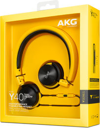 AKG Y40 Vue Packaging