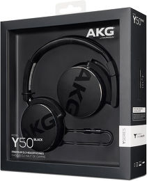 AKG Y50 Vue Packaging