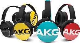 AKG Y50 Vue toutes les couleurs