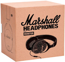 Marshall Monitor Vue Packaging