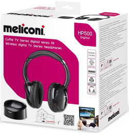 Meliconi HP-500 Digital Vue Packaging