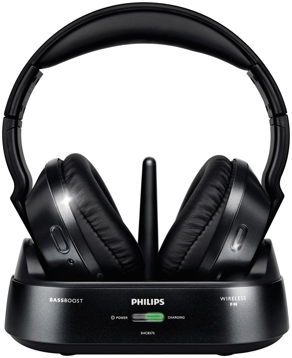 philips shc 8575 casques sans fil son vid. Black Bedroom Furniture Sets. Home Design Ideas