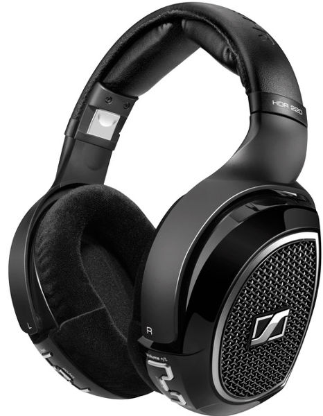sennheiser hdr 220 casques sans fil son vid. Black Bedroom Furniture Sets. Home Design Ideas