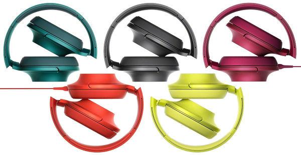 Sony MDR-100 AAP toutes les couleurs