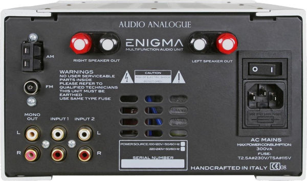 Audio Analogue Primo Enigma v2