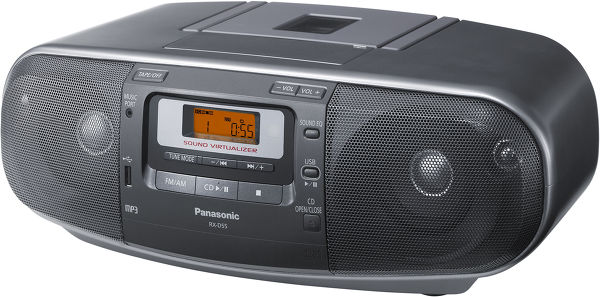 Panasonic RX-D55AEG-K Vue principale