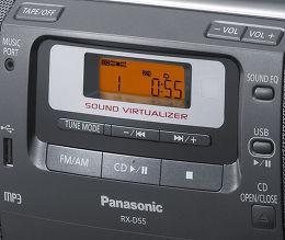 Panasonic RX-D55AEG-K Vue de détail 1