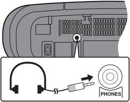 Panasonic RX-D55AEG-K Vue de détail 2