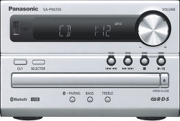 Panasonic SC-PM250EF-S Vue de détail 1