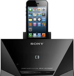 Sony MHC-EC619iP Vue de détail 3