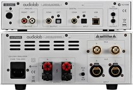 Audiolab Q-DAC + M-PWR Vue arrière
