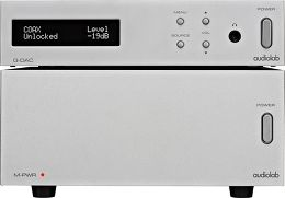 Audiolab Q-DAC + M-PWR Vue principale