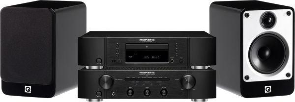 Marantz 6005 / Q Acoustics 20 Vue principale