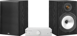 Musical Fidelity 90 / Monitor audio MR