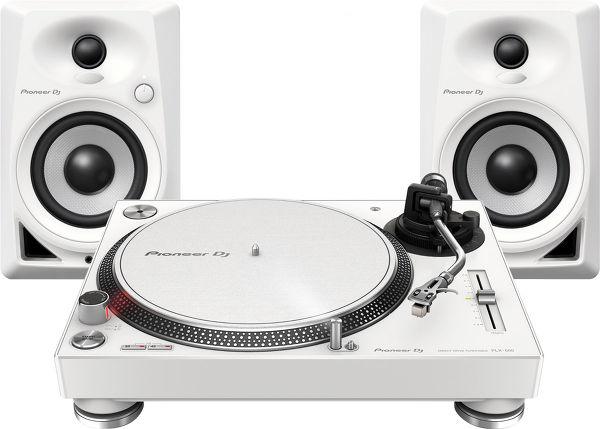 Pioneer PLX-500 + DM-40 Vue principale