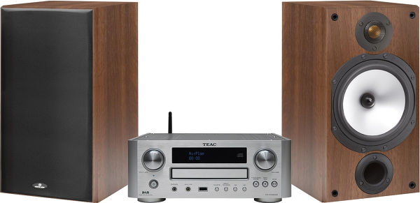 Teac 700 / Monitor Audio MR Vue principale