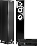 Arcam A18 Noir + CD17 Noir + MC40 Java Noir laqu�